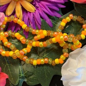 Jewelry - Orange and yellow waist beads